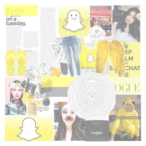 """""""Oh SNAP!"""" by leeloowheeler ❤ liked on Polyvore featuring Assouline Publishing, Havaianas, philosophy, Chanel and Ted Baker"""