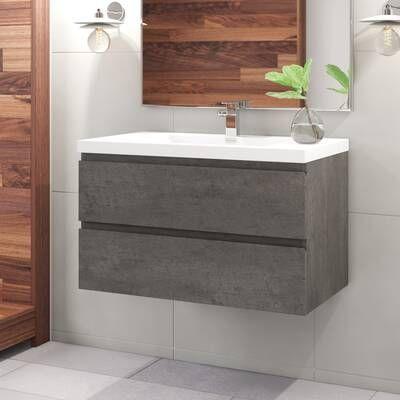 Nathaniel 59 Single Bathroom Vanity Set In 2020 Floating