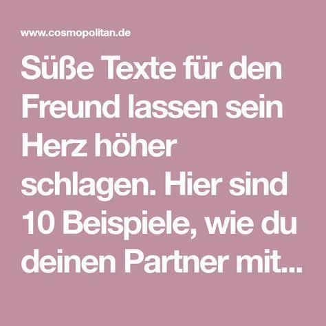 Texte für freund süße 10 süße