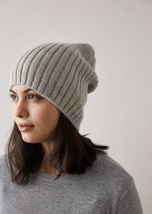 Lovely Ribbed Hat | Purl Soho | DIY | Knitted hats