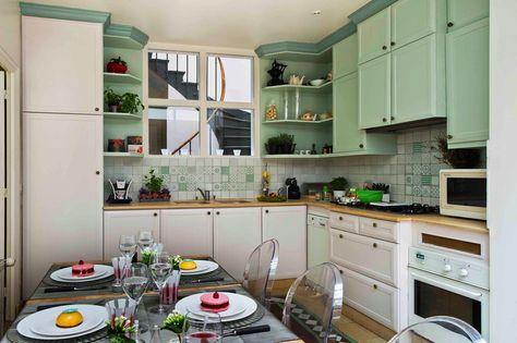 Cuisine Touraine Et Opaline Eleonore Deco Cuisines Kitchen