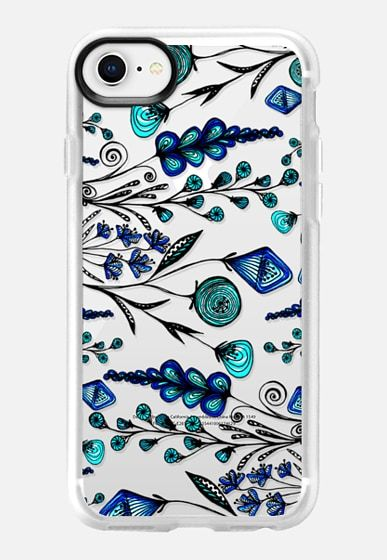 low cost 3d80f eb316 Impact iPhone XS Max Case - Doodle Blooms | iPhone X Case / iPhone 8 ...