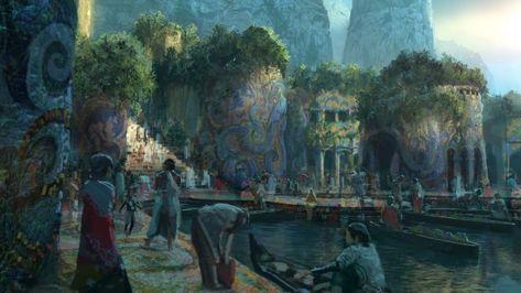 Map of Runeterra - Universe - League of Legends | Civilizations ...