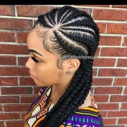 Photo Of Aita African Hair Braiding Columbus Oh United States Cornrow Braid Styles Cornrow Hairstyles Braided Hairstyles