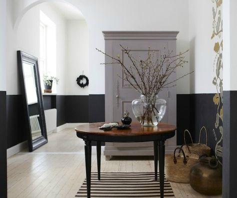 Interieur trends| Lambrisering van verf • Stijlvol Styling - Woonblog •Stijlvol Styling – Woonblog