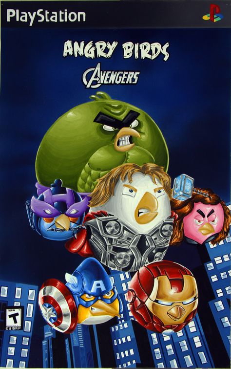 angry birds avengers game poster by ishaansharma456.deviantart.com on @deviantART
