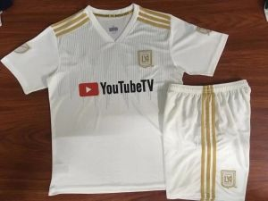 the best attitude e9ce1 7b476 2018 Cheap Youth Kit LAFC Away Replica White Suit [CFC75 ...