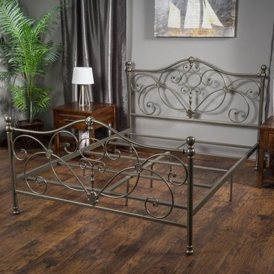 Camden Champagne Iron King Bed King Beds Bed Frame Sizes