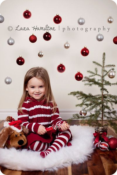 Unisex Kids Children Red And White Striped Pajamas Matching Christmas With Santa