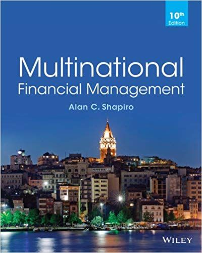 Multinational Financial Management 10th Edition Isbn 13 978 1118572382 Financial Management Management Books Financial