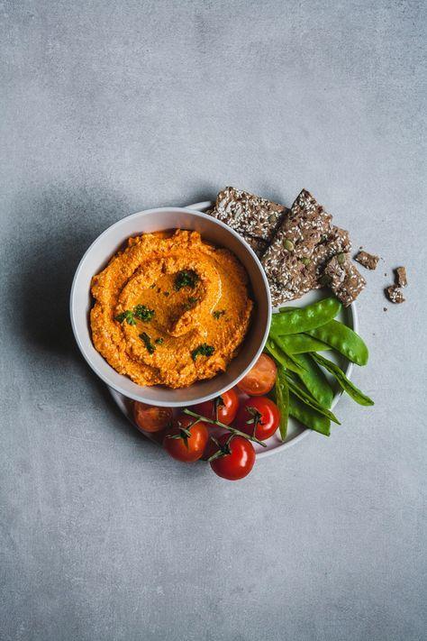 Roasted Red Pepper And Feta Dip in 2018   Food Stuff