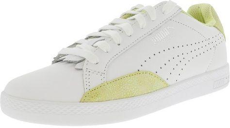 Puma Match Lo Women US 8 White Sneakers