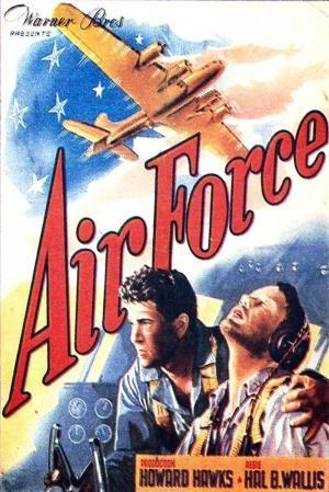 Air Force 1943 Peliculas De Aviones Carteleras De Cine Cine Bélico
