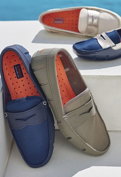 The classic loafer design is the perfect option for a day on