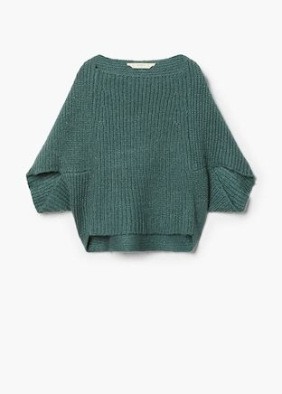 Women Autumn Winter Lantern Sleeve Knitted Sweater Turtleneck Pullovers Tops JJ