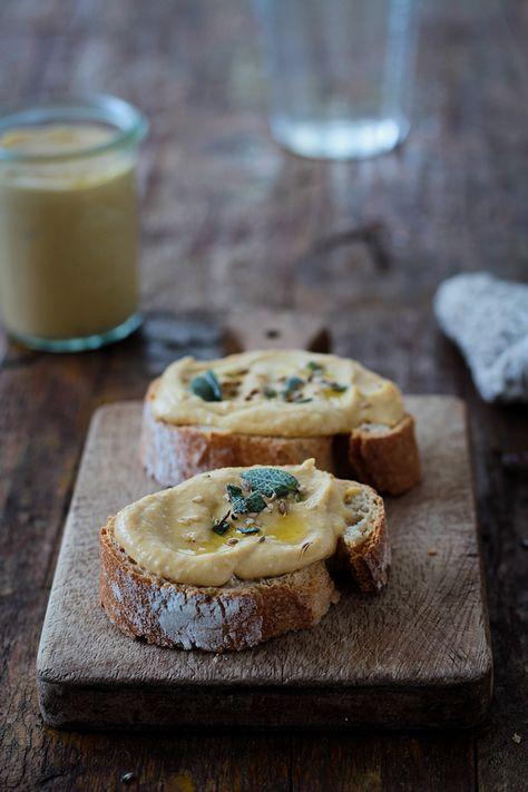 Hummus de calabaza, para dar la bienvenida al otoño!