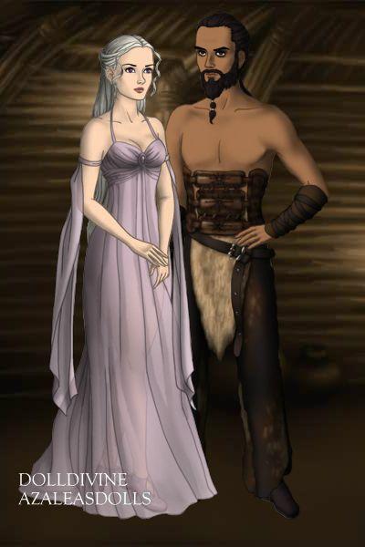 Rhaenyra Targaryen Oc Khal Drogo Character Creator Targaryen Khal Drogo