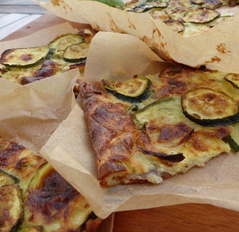 Scarpaccia de courgettes au parmesan - Philandcocuisine