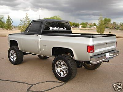 1985 Chevy K10 Short Bed 1985 Custom 454 Chevy Short Bed 4x4 Truck