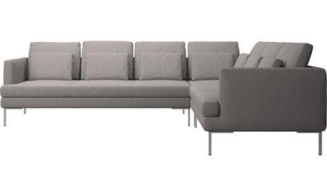 Corner sofas - Istra 2 corner sofa - Gray - Fabric | Place ...