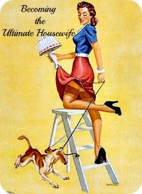 Perfect housewife 1950s