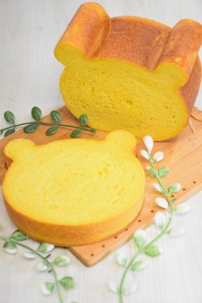 かぼちゃのくま型食パン Ayaka お菓子 パンのレシピや作り方 Cotta コッタ レシピ 2020 食べ物のアイデア 自家製パン レシピ