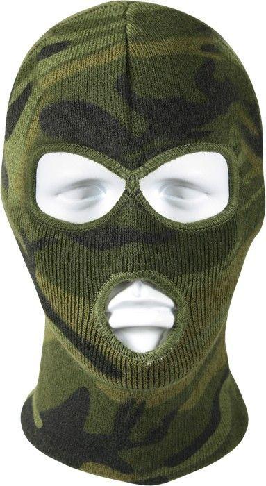 Military OD Green Acrylic One Hole Ski Mask Face mask USA Made Rothco 5501