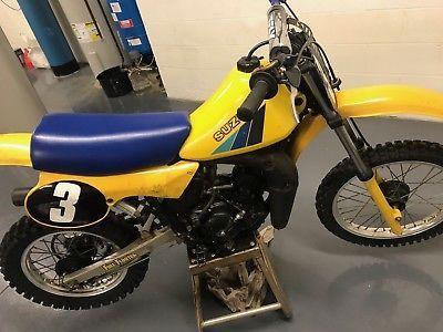 Ebay 1983 Suzuki Rm 1983 Suzuki Rm 80 Barn Find Vintage Dirt Bike
