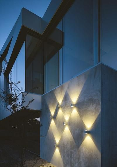 Como Led Up Down Wall Light Lighting Facade