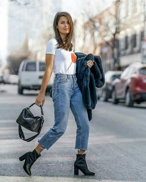 Adorable street style jeans ideas for this spring 37 classy street style, w