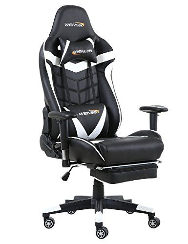 Pc Gaming Chair With Footrest Types Gaming Chair Pc Gaming