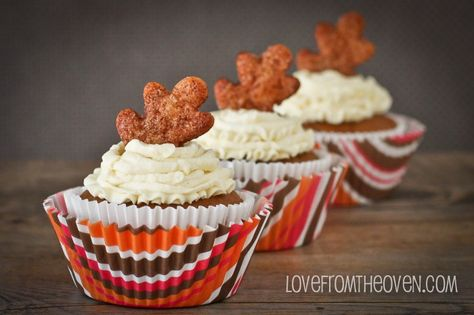 Pumpkin Pie Cupcakes by Love From The Oven