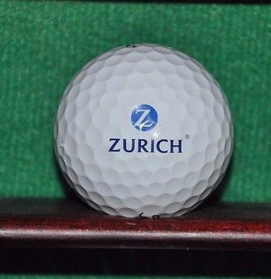 Zurich Insurance Corporation Logo Golf Ball Titleist Pro V1