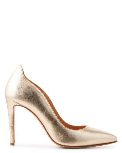 Escarpins dorés waou! Minelli #escarpins #doré #dorés