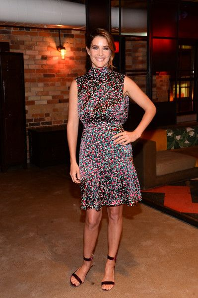 Actress Cobie Smulders attends the Mastercard's Masterpass campaign launch event.