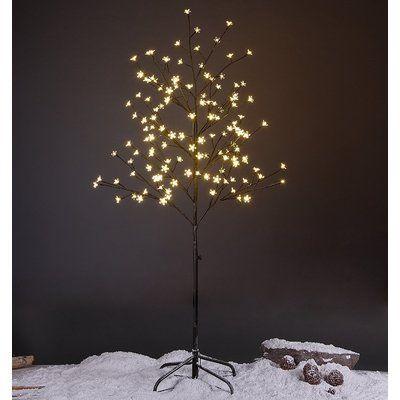 The Holiday Aisle Cherry Blossom Lighted Tree 144 Light Lighted Tree Cherry Blossom Light Tree Led Star Lights Tree Lighting