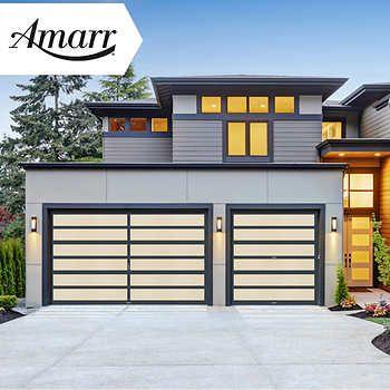 Amarr Garage Doors And Liftmaster Openers Custom Garage Doors Garage Door Styles Garage Door Makeover