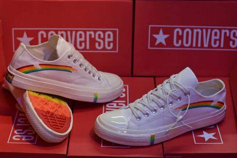 Sepatu Converse Plangi Rainbow Premium Quality Made In Vietnam