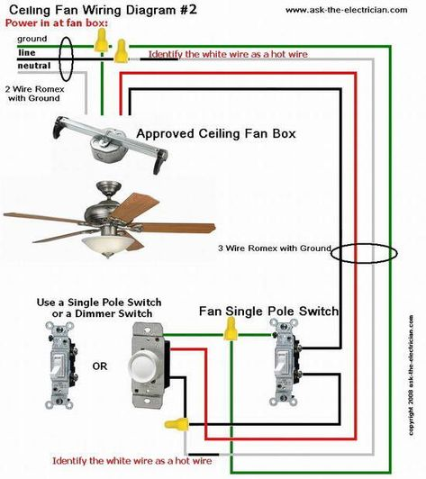 Ceiling Fan Switch Wiring Diagram Useful Info & How To's