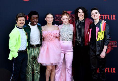 Stranger Things Cast at Season 3 Premiere
