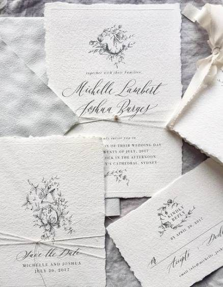 39 Trendy Wedding Invitations Card Floral Envelopes