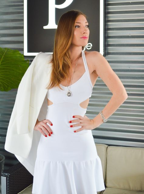Champagne Style on a Beer Budget (Dress #fabfound $7.00) | Polished for Pennies