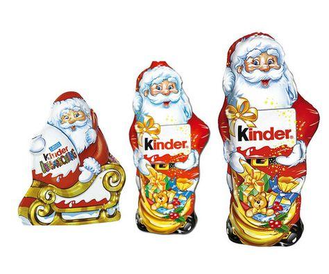 Kinder Santa Claus Trio Christmas Chocolate Santaclaus With Images Christmas Chocolate Hello Kitty Toys Chocolate
