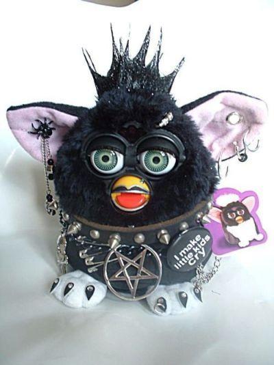 ferbie | Tumblr | Emojis | Furby boom, Creepy toys, Space grunge