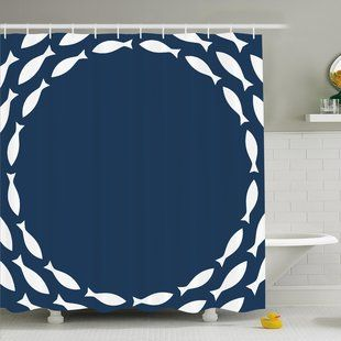 Shower Curtains You Ll Love Wayfair Shower Curtain Sets Fish