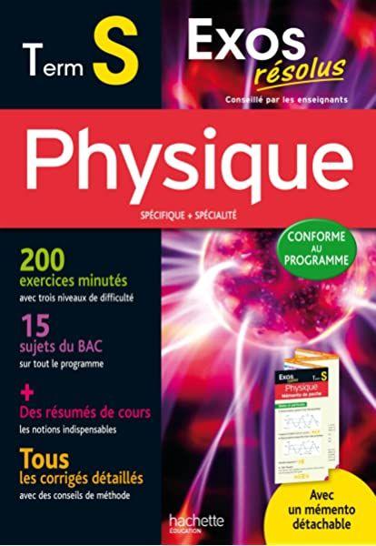1001 Exercices Corriges De Mathematiques Pour Reussir Son Bac Terminale S Amazon Fr Renard Konrad Livres Books Physique Term