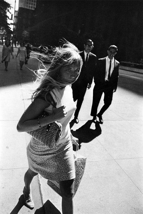 New York, 1965. Photo: Garry Winogrand.