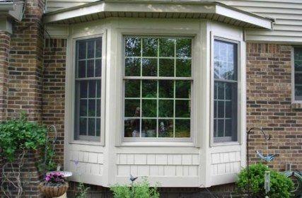House Exterior Windows Dining Rooms 18 Ideas Bay Window Exterior Window Trim Exterior Exterior House Siding