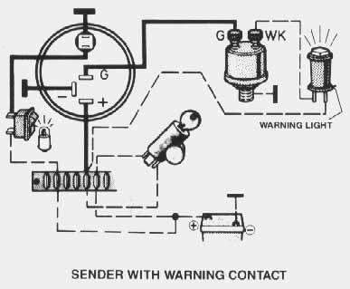 Vdo Oil Temp Gauge Wiring Diagram : 33 Wiring Diagram