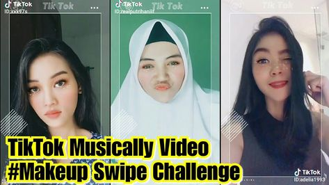 Makeup Swipe Challenge Tiktok Musically Video Challenge Tiktok Tiktokmaniac Makeupchallenge Musically Tiktokvideo Make Up Tik Tok
